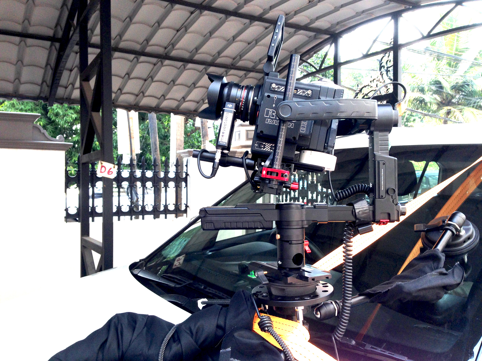 Car rig with Ronin mx